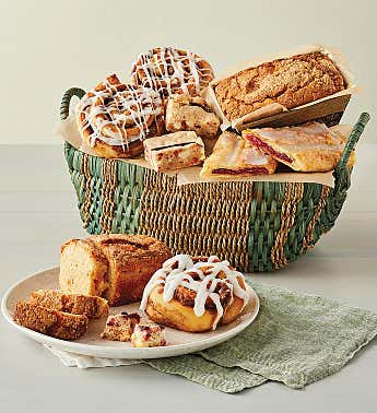 Sweet Pastry Sampler Basket